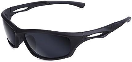 BRIGADA Polarized Cool Black Fashion Driving Sport Men's Sunglasses, Frame Sunglasses for Men