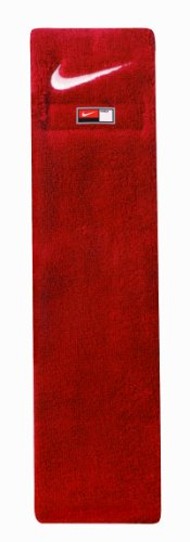 Nike Football Towel (Red/White)