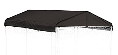 Weatherguard Kennel Frame & Cover Set from Jewett-Cameron Pets