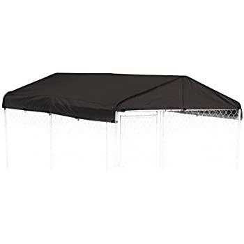Dog Kennel Cover - WeatherGuard Medium All Season Dog Run Cover u0026 Roof - Perfect Fit  sc 1 st  Amazon.com & Amazon.com : Dog Kennel Cover - WeatherGuard Medium All Season Dog ...