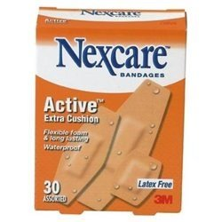 NEXCARE ACTIVE STRIPS ASST NEW 30