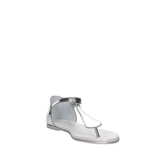Trussardi Jeans 79S603 Sandalia Mujer Argento