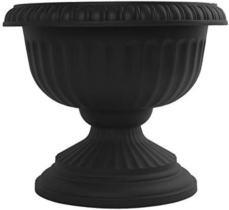 Bloem GU18-00 Grecian Urn Planter, 18 , Black