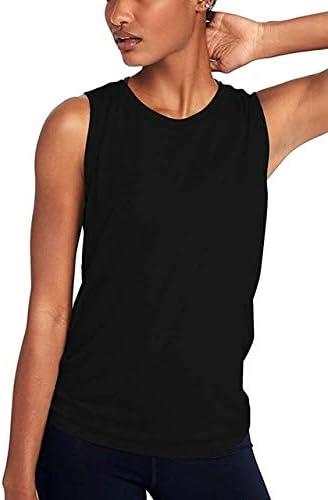 SGYHPL Mujer Camisa De Gimnasia Verano Yoga Camiseta Sin Mangas Malla De Secado Rápido Chaleco Deportivo Mujer Ropa Deportiva Camisa De Entrenamiento Sin Mangas Ropa Deportiva para Correr XXL Negro: Amazon.es: Deportes