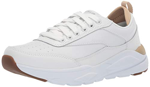 Skechers Men's VERRADO Oxford, White, 11.5 Medium US (White Skechers Shoes For Men)