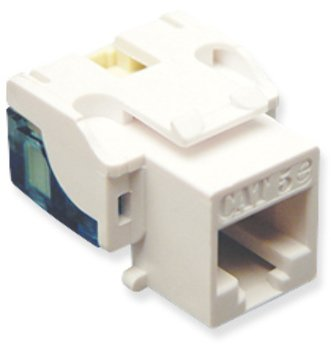 IC107E5CWH - 25PK Cat5 Jack - White Computers, Electronics, Office Supplies, Computing by WMU