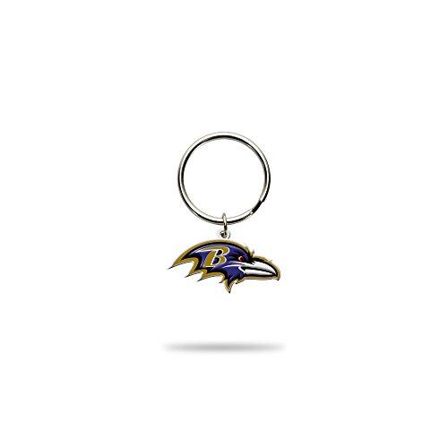 Rico Industries NFL Baltimore Ravens Flexible Team Logo Keychain Baltimore Ravens Team Keychain