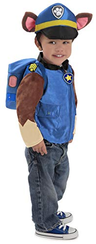 Princess Paradise Paw Patrol Chase Costume, Blue, Small -