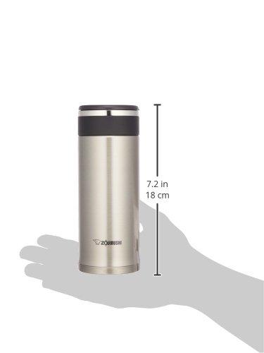 【Amazon.co.jp限定】象印 水筒 直飲み ステンレスマグ 360ml シルバー