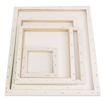 Photo Frame & Accessories Phoho Frames - White Blank Square Canvas ...