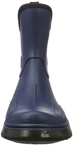 BOCKSTIEGEL® PETER Hombres - Cargadores del tobillo de goma (Tamaños: 41-48) azul oscuro
