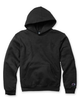 Champion Boys Men's Big Boys' Powerblend Eco Fleece Pullover Hoodie