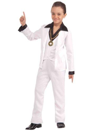 [Forum Novelties 70's Disco Fever Child Costume, Small] (Mens Disco Jumpsuit)