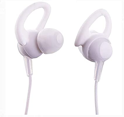 ONN Bluetooth in-Ear Headphones with Built-in Microphone (White)