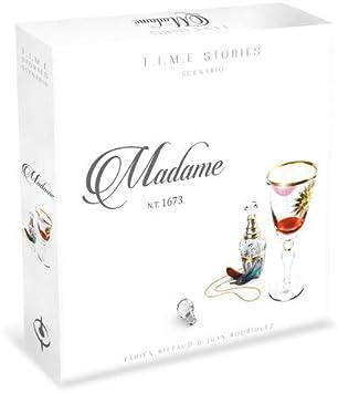 Asmodee Italia- T.I.M.E Stories Madame Juego de Mesa, Color, SCTS09IT: Amazon.es: Juguetes y juegos