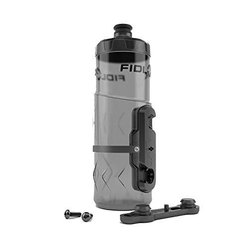 Fidlock Bottle Twist with Gravity Kit Bike Water Bottle Cage, Translucent Black – DiZiSports Store