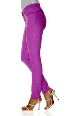 33e2528e5c8b B.C. Best Connections Jeans lila Slim Fit Gr 38 Damen Röhren-Jeans Hosen  Stretch  Amazon.de  Bekleidung