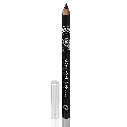 Pencil, No. 01 Black, 0.038 Ounce (Black Soft Eyeliner)