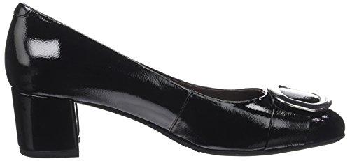 Platform Heels Leslie black Women's nero Stonefly Naplack Black 1 vOqw4