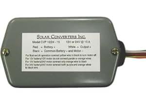 SOLAR CONVERTERS CV6/24-3, 6V-24V, 3A VOLTAGE REGULATOR