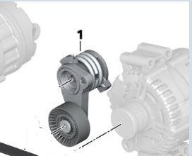 Mechanical Tensioner - BMW 11-28-8-624-196 - Mechanical Belt Tensioner 112811