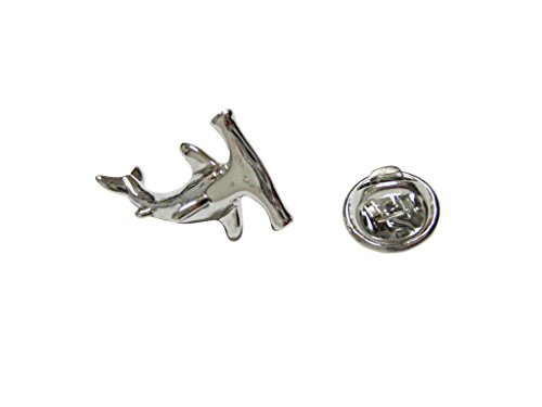 - Kiola Designs Hammerhead Shark Lapel Pin