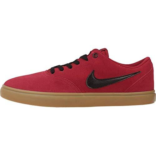 para SB Hombre de Deporte Solar Zapatillas Rojo Check Nike 7Rxwqf4Y4