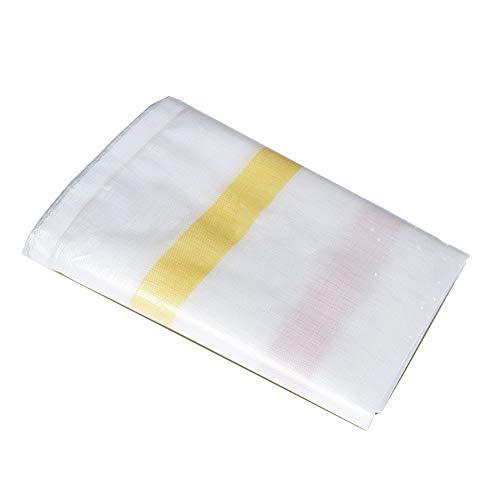嬉しいです大学院長いですKKCF オーニング耐寒性日焼け止め防風不凍液腐食保護屋外カーポートポリエチレン 、200 / M2 、19サイズ (色 : Red and yellow stripes, サイズ さいず : 4.8x14.8m)