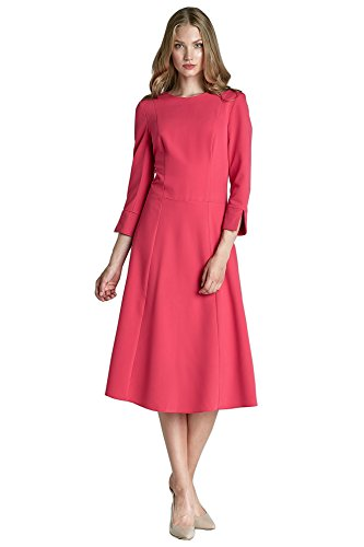 Damen Nife Fuchsia Plissee Dress Rosa 1qwr8qd