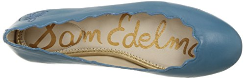 Francis Sam Women's Edelman Flat Ballet Blue Leather Pacific wwgEZqOnC