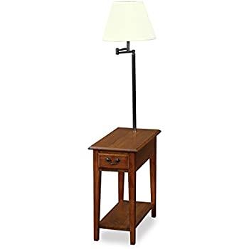 Amazon leick furniture chairside lamp table medium oak leick furniture chairside lamp table medium oak aloadofball Images