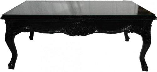 Table Noir 120 X Cm Baroque Casa De Café 80 Padrino v0OmnwN8