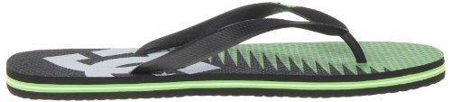 DC Shoes Mens Spray Carnivor M Thong Sandals Verde (Grün (Black Green)) gMFkX