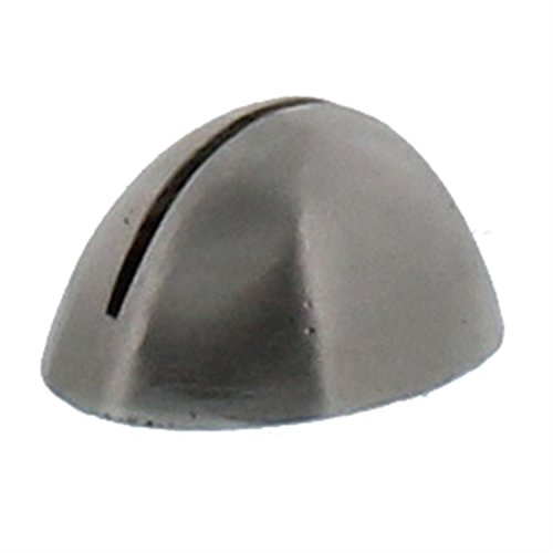 Silver Iron Place Card Holder Set | Nickel Metal Oval Round Simple (Card Pair Place Silver Holders)