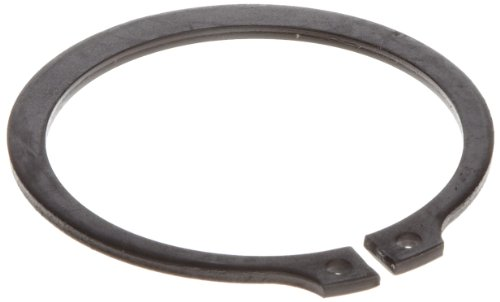 [Standard External Retaining Ring, Tapered Section, Axial Assembly, SAE 1060-1090 Carbon Steel, Phosphate and Oil Finish, Meets DIN 471 Specifications, 30mm Shaft Diameter, 1.50mm Thick, Made in US (Pack of 10)] (Sae Oil Specifications)