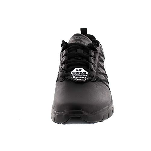 Shoes SKECHERS 76576EC Sure Black Work Earth Track Aw5wnHq7U