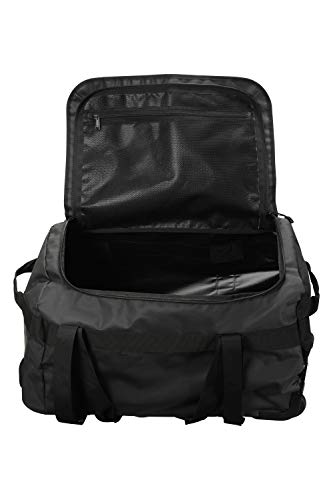 For Black Holdall Carry Luggage Grab Inner 60L Warehouse amp; Suitcase On Cargo Bag Handles Cabin Camping Strap Festivals Hand Travel Carry Mountain Pocket Wheelie gPUvgw