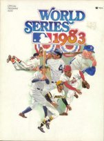 - 1980 World Series Program Philadelphia Phillies vs Kansas City Royals