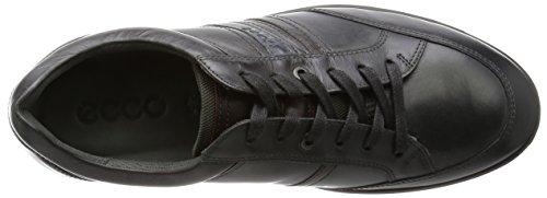 ECCO Indianapolis, Zapatos de Cordones Derby para Hombre Gris (MOONLESS/MINK50192)
