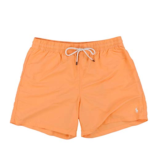Polo Ralph Lauren Mens Pony Logo Traveler Swim Trunk (XXL, Light ()