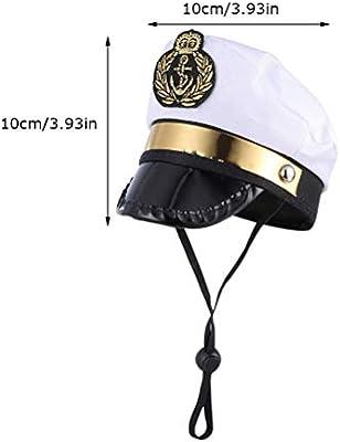 Kylewo Marinero Capitán Sombrero Capitán Sombrero Marineros ...