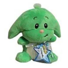 (Neopets Collector Species Series 3 Plush with Keyquest Code Green Kacheek)