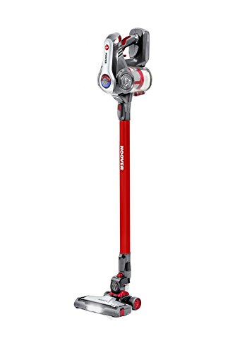 Hoover Discovery 3in1 Cordless Stick Vacuum Cleaner, DS22GR, Handheld, Above Floor, Turbo Boost, Wall Mount, 35 Mins Runtime - Red