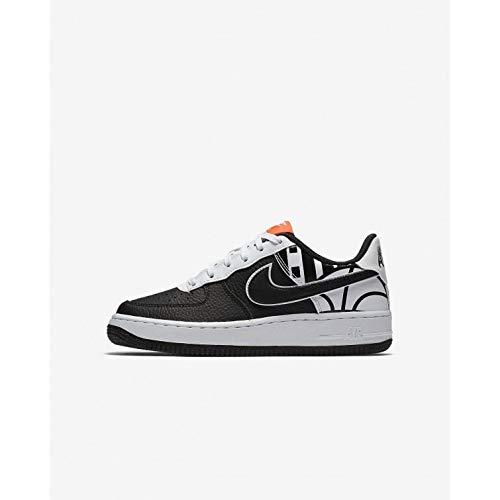 Nike Air Force 1 LV8 Black/Black-White (Big Kid) (7 M US Big Kid)