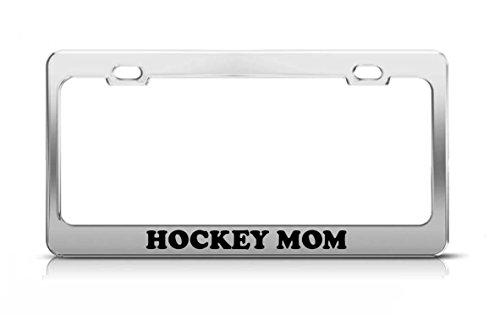 hockey mom license plate frame - 1