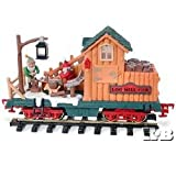 : Holiday Express Log Mill Wood Car