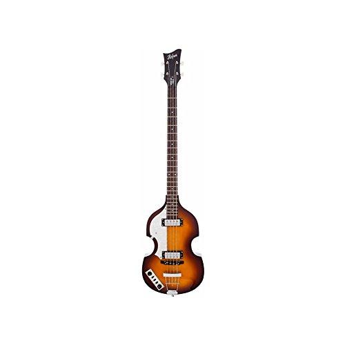 Hofner Violin Bass - Ignition Left-Handed Sunburst 4-String Electric Bass w/ Case ()