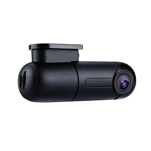 Blueskysea B1W WiFi Mini Dash Cam Car Camera Vehicle Video Driving Recorder 360 Degree Rotatable Lens 1080p 30fps G-Sensor Loop Recording (B1W only)