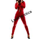 Black Leather Catsuit | bespoke Leather jumpsuit | Leatherotics