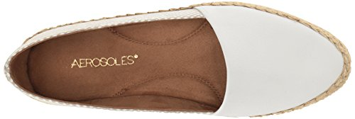 Aerosoles Damen Trendbericht Slip-On Loafer Weiße Kombination